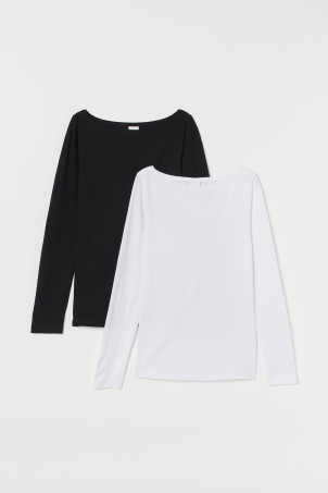 2-pack long-sleeve jersey topsModel