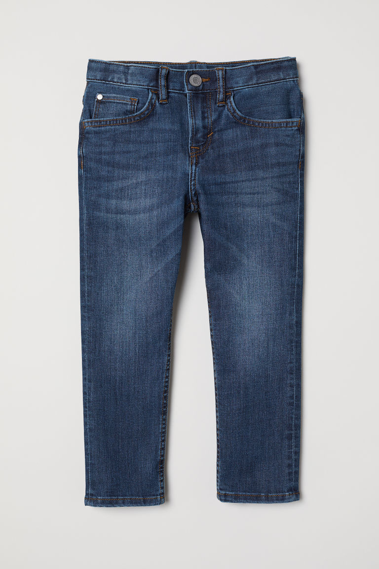 Slim Fit Jeans - Blu denim scuro - BAMBINO | H&M IT