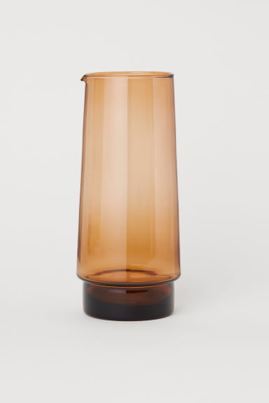 Glass Carafe - Brown - Home All | H&M CA