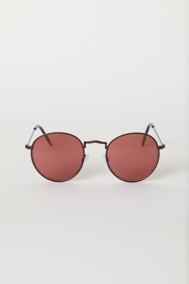 Sunglasses - Red/Red - Men | H&M CN