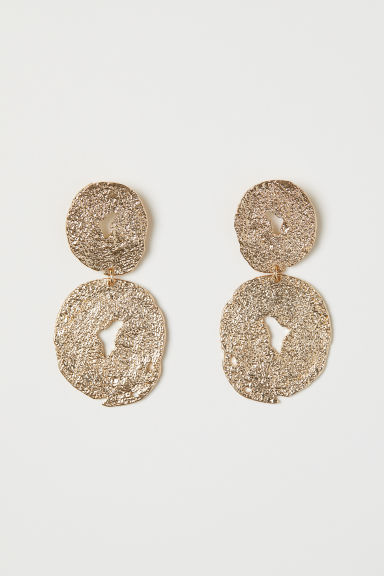 Large Earrings - Gold-colored - Ladies | H&M US