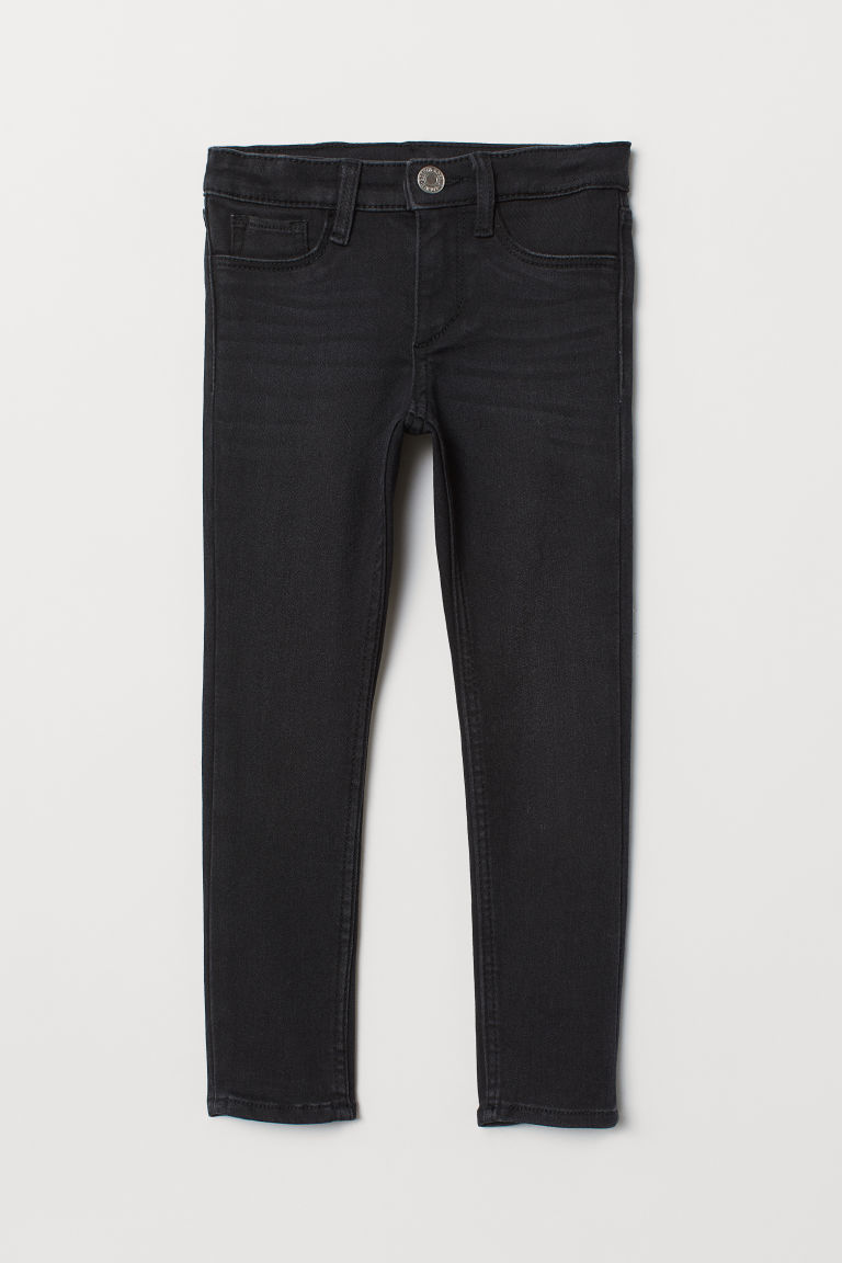 Superstretch Skinny Fit Jeans - Black/Washed - Kids | H&M