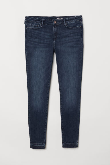 H&M+ Shaping Skinny Jeans - Dark blue - Ladies | H&M CN