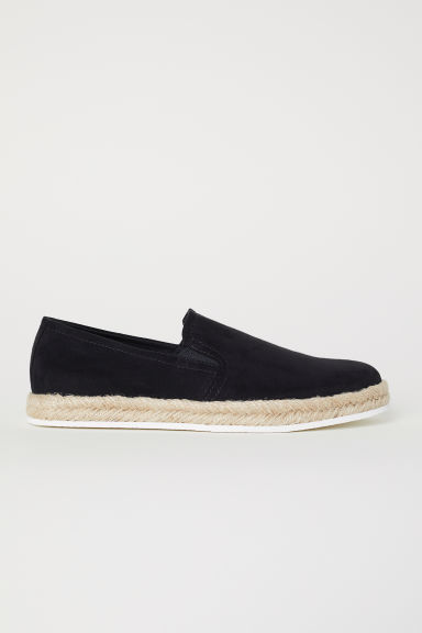 Espadrillas - Nero - UOMO | H&M IT