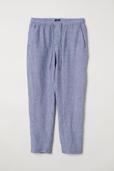 Wide trousers - Blue marl - Men | H&M CN
