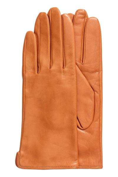 5b8b7cba8ba70 Leather gloves - Black - Ladies | H&M GB