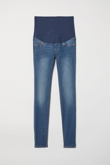 MAMA Super Skinny Jeans - Denim blue/Washed - Ladies | H&M