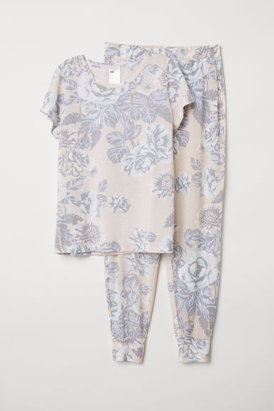 Pyjamas - Pink/Patterned - Ladies | H&M