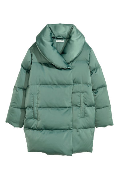 Down jacket - Dusky green - Ladies | H&M IE