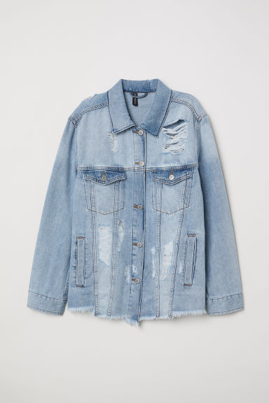 Denim jacket - Light denim blue - Ladies | H&M
