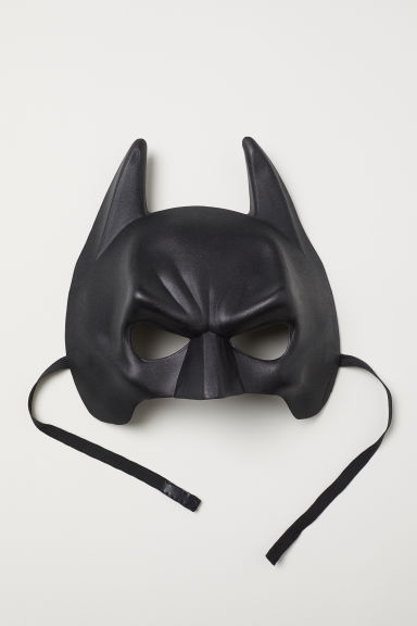 Fancy dress mask - Black/Batman - Kids | H&M