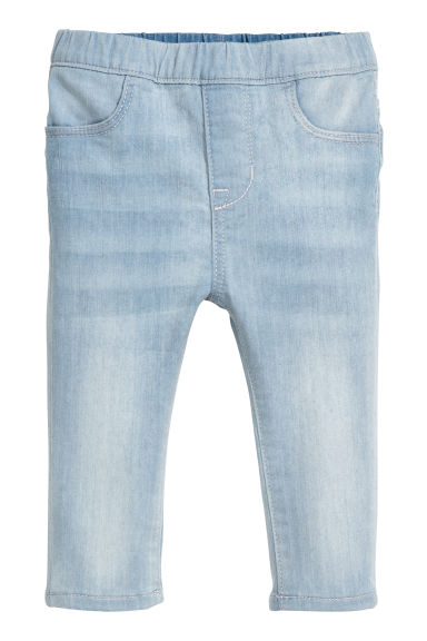 Denim treggings - Light denim blue -  | H&M CN