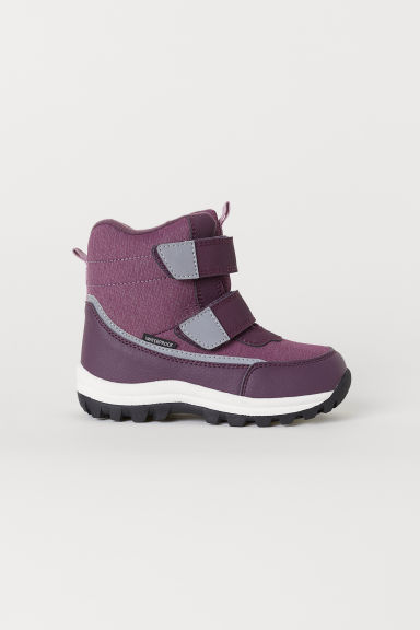 Waterproof boots - Purple - Kids | H&M