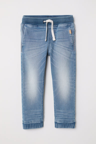Super Soft jeansjoggers - Licht denimblauw - KINDEREN | H&M BE
