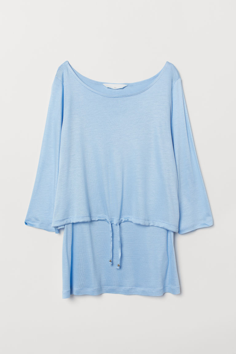 MAMA Stillshirt - Hellblau - Ladies | H&M AT