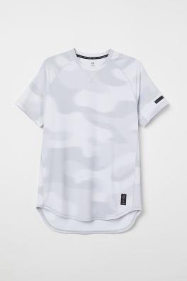 f89c424f7ba Camiseta de deporte - Blanco - HOMBRE | H&M ES