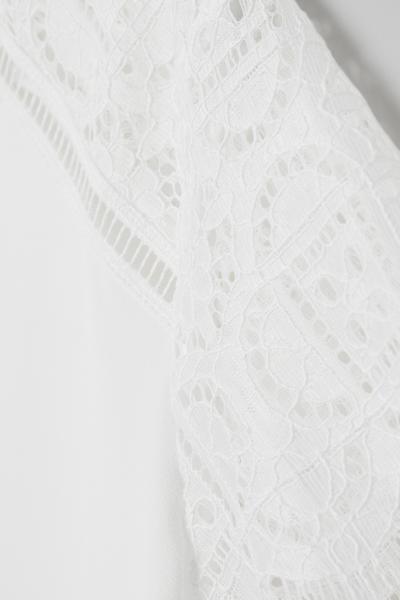 H&M - Top avec dentelle - 2