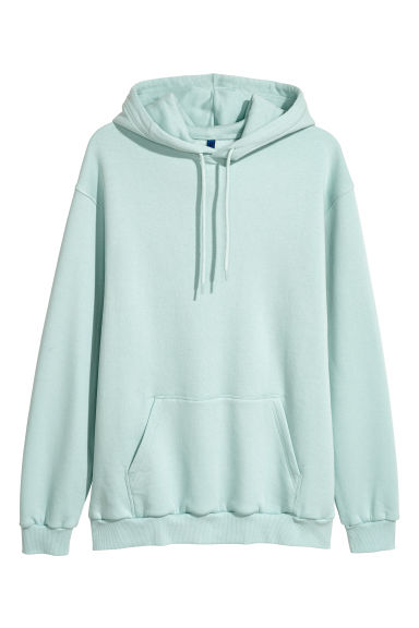 Hooded top - Light turquoise - Men | H&M