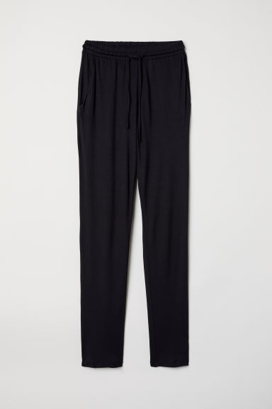 Tricot joggers - Zwart - DAMES | H&M BE