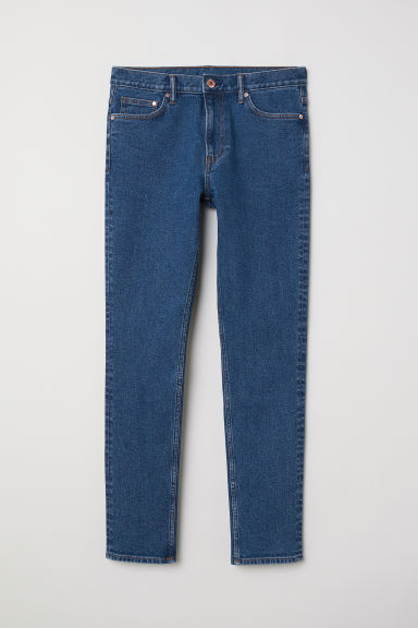 Slim Jeans - Blauw - HEREN | H&M BE