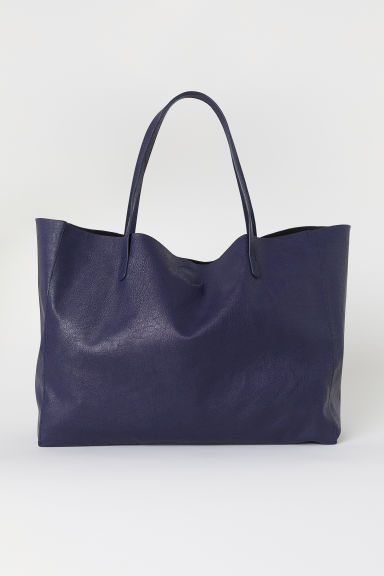 Shopper - Dark blue -  | H&M