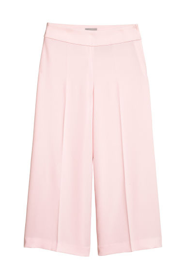 Ankle-length trousers - Light pink -  | H&M