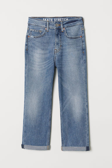 Straight Fit Jeans - Denim blue - Kids | H&M