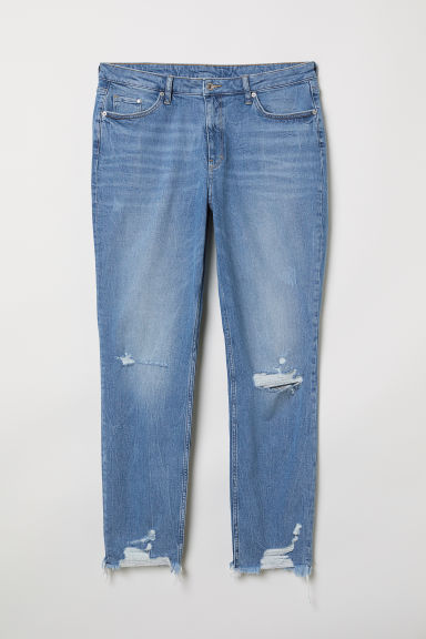 H&M+ Girlfriend Regular Jeans - Blu denim - DONNA | H&M IT