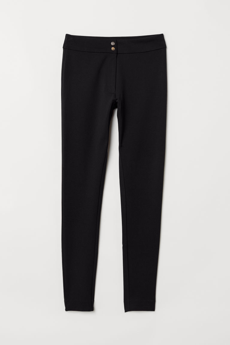 Geklede legging - Zwart - DAMES | H&M BE