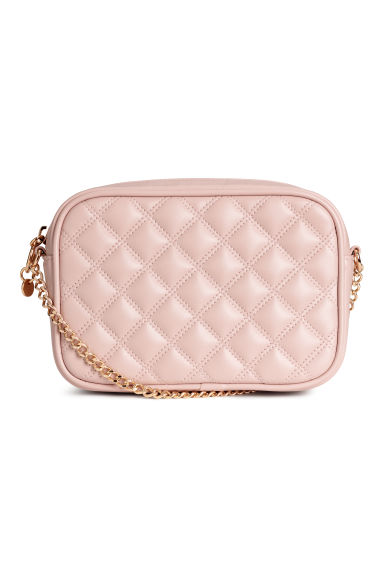 Quilted shoulder bag - Powder pink - Ladies | H&M