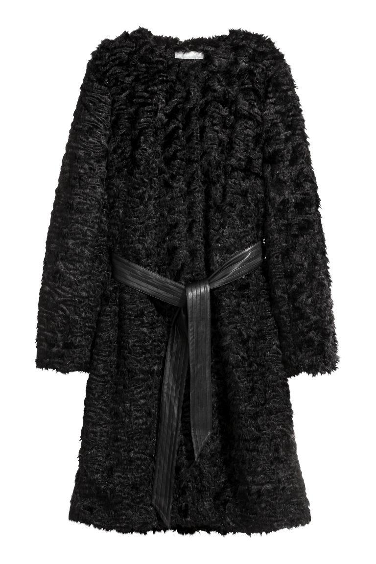 Professionel Vielzahl von Designs und Farben großartige Qualität Mantel aus Fellimitat