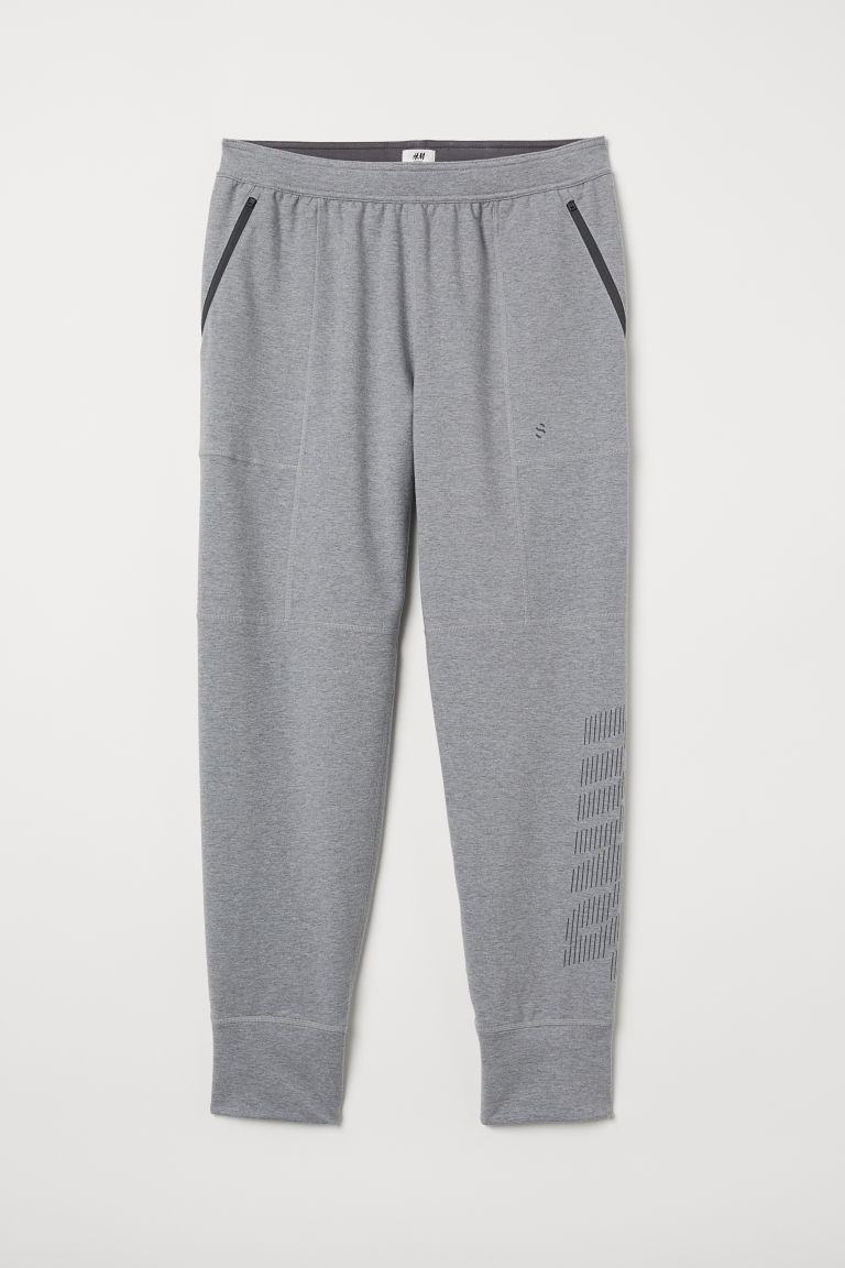 Sports trousers - Grey marl - Men | H&M CN