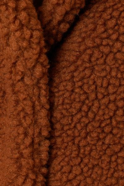 H&M - Abrigo corto en peluche - 6
