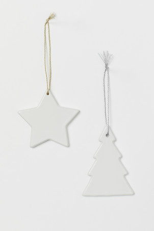 2-pack decoraciones navideñas