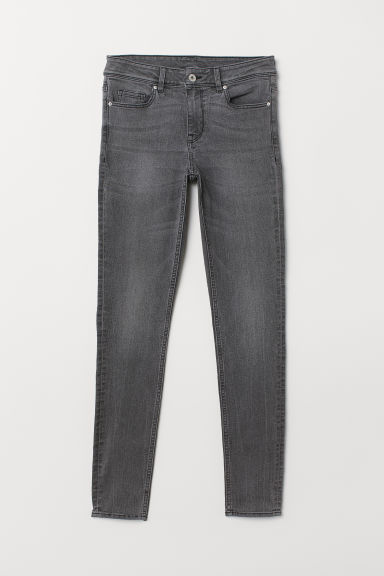 Super Skinny Regular Jeans - Denim grey -  | H&M IN