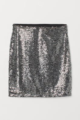 Flared Skirt Knee Length In Sy Woven Fabric That Flares To The Hem And Has Side Pockets A Concealed Zip
