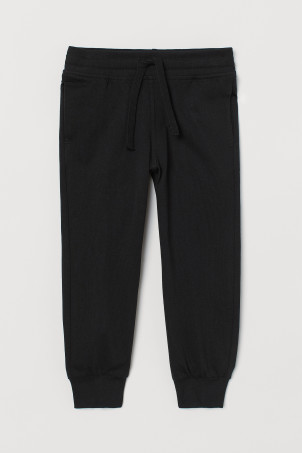 Cotton jersey joggers
