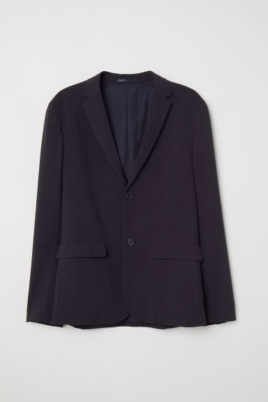 Jacket Slim fit - Dark blue -  | H&M CN