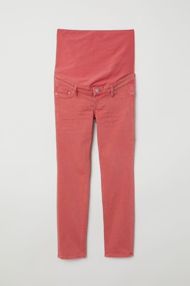 MAMA Ankle-length trousers - Rust red - Ladies | H&M