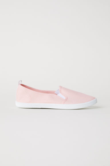 Slip-on trainers - Powder pink -  | H&M