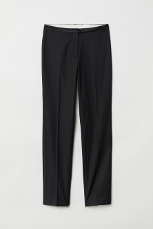 Suit Pants with Zips