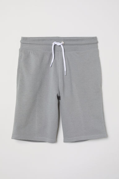 Sweatshirt shorts - Grey - Kids | H&M