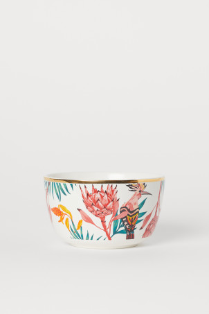 Patterned bowl