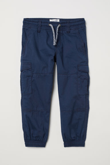 Cargo trousers - Dark blue - Kids | H&M CN