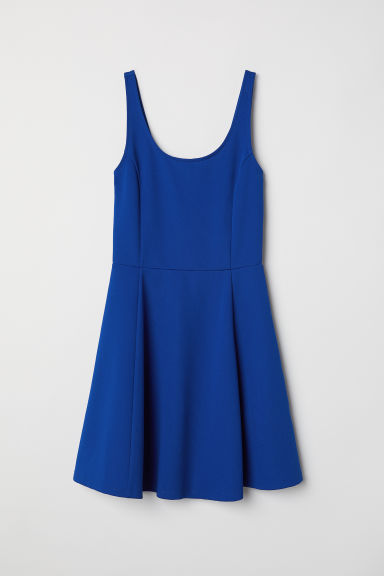 Jersey dress - Cornflower blue -  | H&M CA