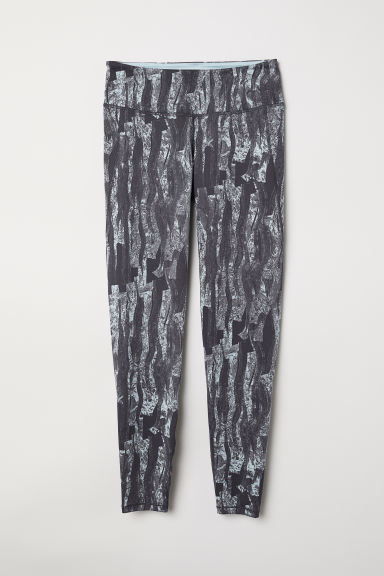 H&M+ Leggings sportivi - Turchese/fantasia -  | H&M IT