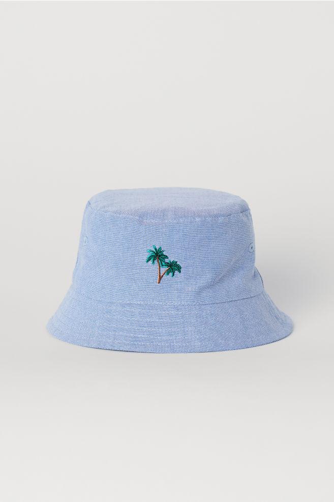 e3684cbe5 Rybársky klobúk - svetlomodrá - DETI   H&M ...