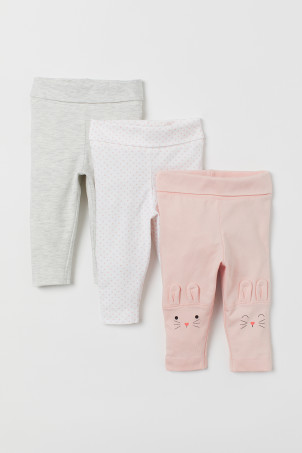 3-pack jersey leggings