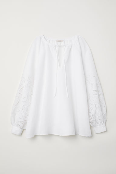 Oversized bloes - Roomwit - DAMES | H&M BE