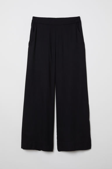 Cropped trousers - Black - Ladies | H&M